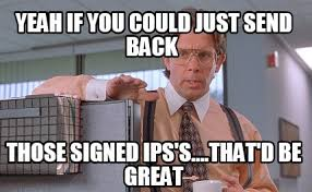 That D Be Great Meme Generator - meme creator yeah if you could just send back those signed ips s
