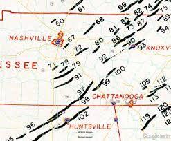 Map Of Middle Tennessee by April 3 1974 Super Outbreak
