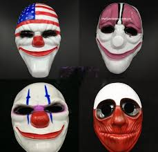 the new theme mask halloween mask payday2 game payday 2 series of