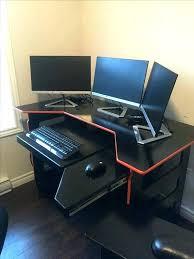 bureau d ordinateur gamer meuble d angle gamer idée de modèle de cuisine