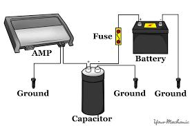 dual capacitor wiring diagram compressor start relay diagram