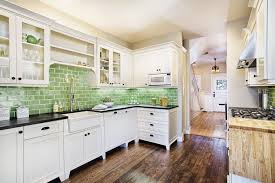 green kitchen tile backsplash white kitchen with green tile backsplash kitchen backsplash