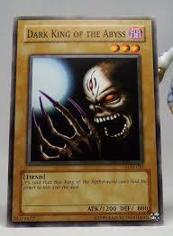 yugioh legend of blue eyes white dragon lob 020 dark king of the abyss
