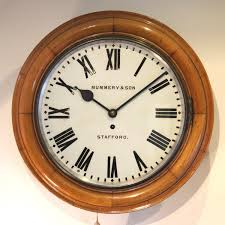 light oak wall clocks giving your home the perfect rustic charm