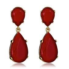 ruby drop earrings kenneth ruby drop earrings hauteheadquarters