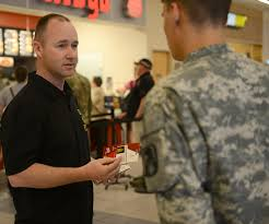 service members receive random acts of kindness u003e joint base
