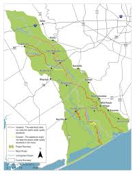 Colorado River Texas Map by Brazos Colorado Coastal Basin Bacteria Reduction Project Houston