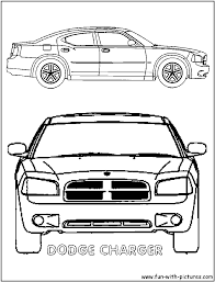 dodge charger police car awesome projects dodge charger coloring