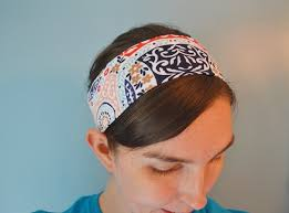 fabric headband tutorial basic knit fabric headband sewing