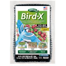 bird x 14 ft x 45 ft dalen products netting and 5 8 in