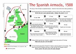 the spanish armada 1588 worksheet free pdf year8 9