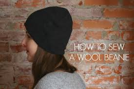 how to make a wool hat from a sweater