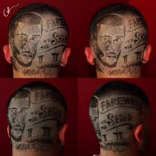 colin kaepernick inspired haircut features giant colin kaepernick
