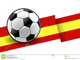 Barcelona Spain Flag Football With Flag Spain Stock Illustration Image Of Circle