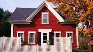 red exterior paint colors home painting ideas