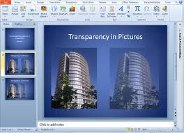 how to add transparency to a picture in powerpoint 2010 good to
