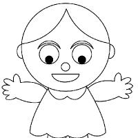 drawing doll