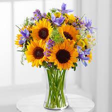 sunflower arrangements search the dugan wedding