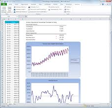 Demand Forecasting Excel Template by Stattools Forecasting And Statistical Analysis Software For Excel