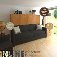 italian horizontal wall bed over sofa expand furniture youtube for