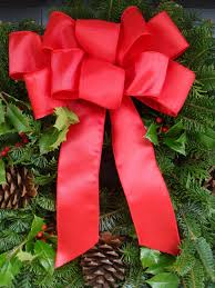 Christmas Outdoor Decorations Discount by 10 Christmas Bows For Outdoor Decorations Bulk Christmas