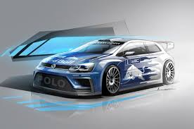 volkswagen sports car models volkswagen 2017 polo r wrc concept revealed red bull