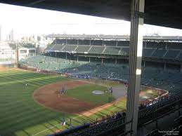Chicago Cubs Seat Map by Wrigley Field Section 506 Chicago Cubs Rateyourseats Com