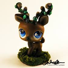 halloween lps forest spirit elk custom lps by thatg33kgirl on deviantart my