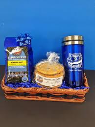 coffee gift basket ideas cookies coffee gift basket 2 cops doughnuts