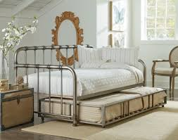 bedroom furniture sets metal daybed with trundle iron daybed
