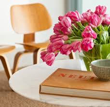 tulips and eames plywood chairs genuine classics pinterest