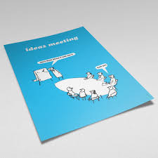 modern toss periodic table of swearing ideas meeting poster