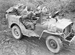 ww2 jeep british commandos spent a month driving across france killing