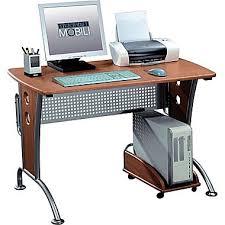 desktop computer desk techni mobili computer desk dark honey rta 8338 tech dreams