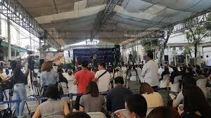 pia bureau pia ranada on presidentduterte to witness of