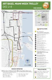 Miami Dade Transit Map by December 2013 Miami Transit Rider