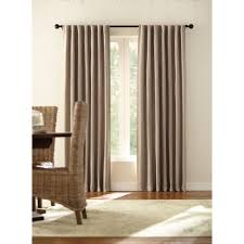 home decorators collection semi opaque taupe tweed room darkening
