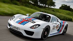 martini rossi racing porsche 918 spyder in martini racing colors