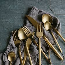 due 5 piece flatware set service for 1 zola