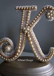 k cake topper monogrammed custom vintage pearl wedding cake topper display