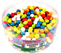 bubble gum balls tub of 600 amazon co uk grocery
