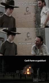 Walking Dead Rick Crying Meme - the 19 greatest dad jokes from rick grimes the walking dead