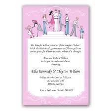 wedding rehearsal invitations weiss wedding rehearsal dinner invitations paperstyle