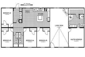 5 bedroom double wide floor plans 25 wide floor plans mobile modular home floor plans clayton