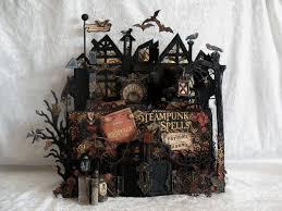 Steam Punk Home Decor Steampunk Spells Decor For Halloween U0026 Fall Graphic 45