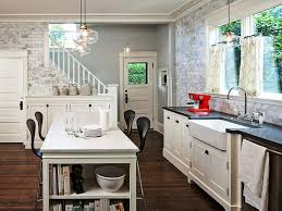 white kitchen island breakfast bar furniture decor trend most