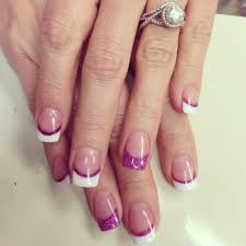 fuschia accent on solar nails yelp