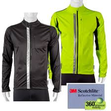 fluorescent cycling jacket aero tech reflective jacket be safe be seen high visibility
