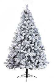 snowy toronto pine 8ft artificial tree uniquely