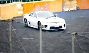 lexus sports car lfa video drift crowd impressed by lexus lfa in tokyo autoevolution